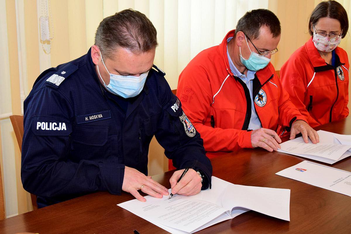 Nowe porozumienie o współpracy z Policją