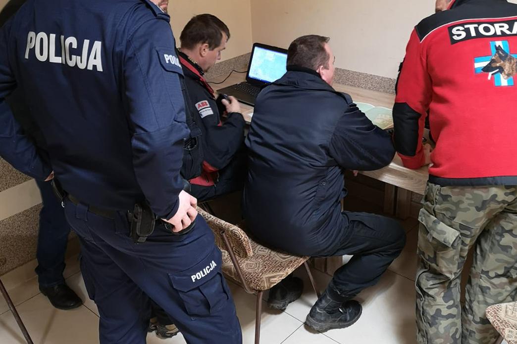 Poszukiwania 70-latka, okolice Kielc