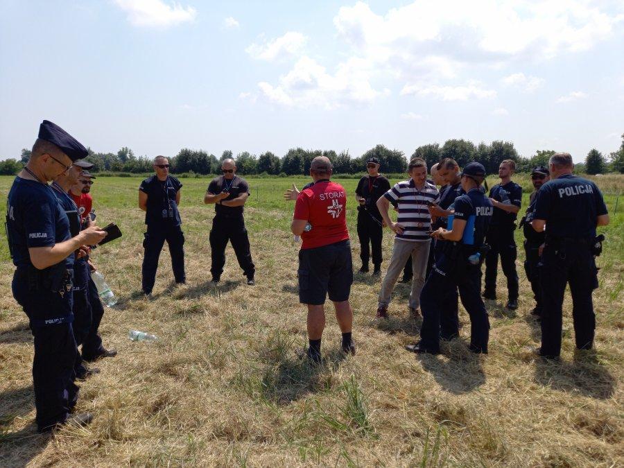 Kolejne szkolenia STORATu z podkarpacką Policją.
